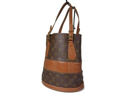 Auth LOUIS VUITTON Vintage BUCKET Monogram Tote Bag Purse LH15605L - $259.00