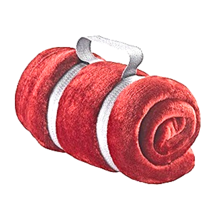Lewis N Clark Microplush Travel Blanket, Burgundy - $13.95