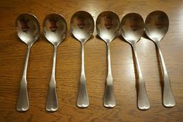 Oneida Community Patrick Henry Vintage/Antique Set Of 6 Soup Ladels Spoons - $23.50