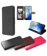 For Samsung Galaxy A11 Leather Wallet Hybrid Case Cover Protective Card ... - $9.57