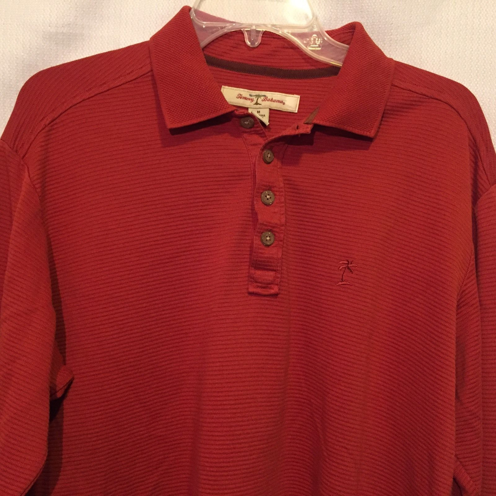 7f6c8510 TOMMY BAHAMA Long Sleeve Polo Shirt Size and 35 similar items. S l1600