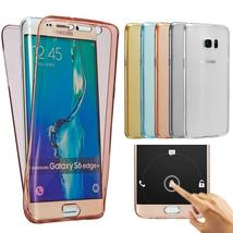Luxury 360 Double Silicone Phone Case For Samsung Galaxy S6 S7 Edge S8 S... - $8.65