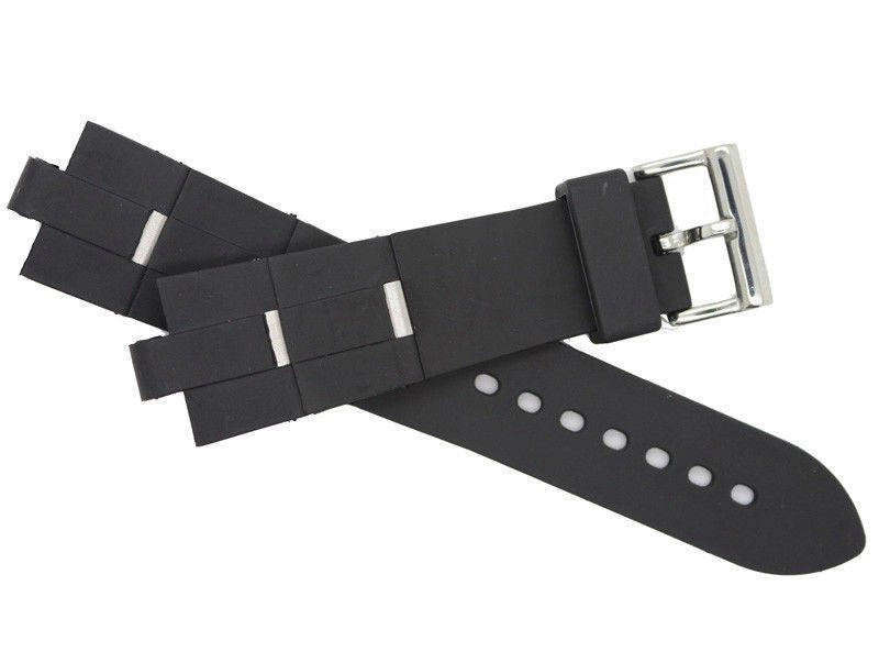 New Rubber Watch Band Replacement Strap For (Fit) Bvlgari - Bulgari Diagono 24mm