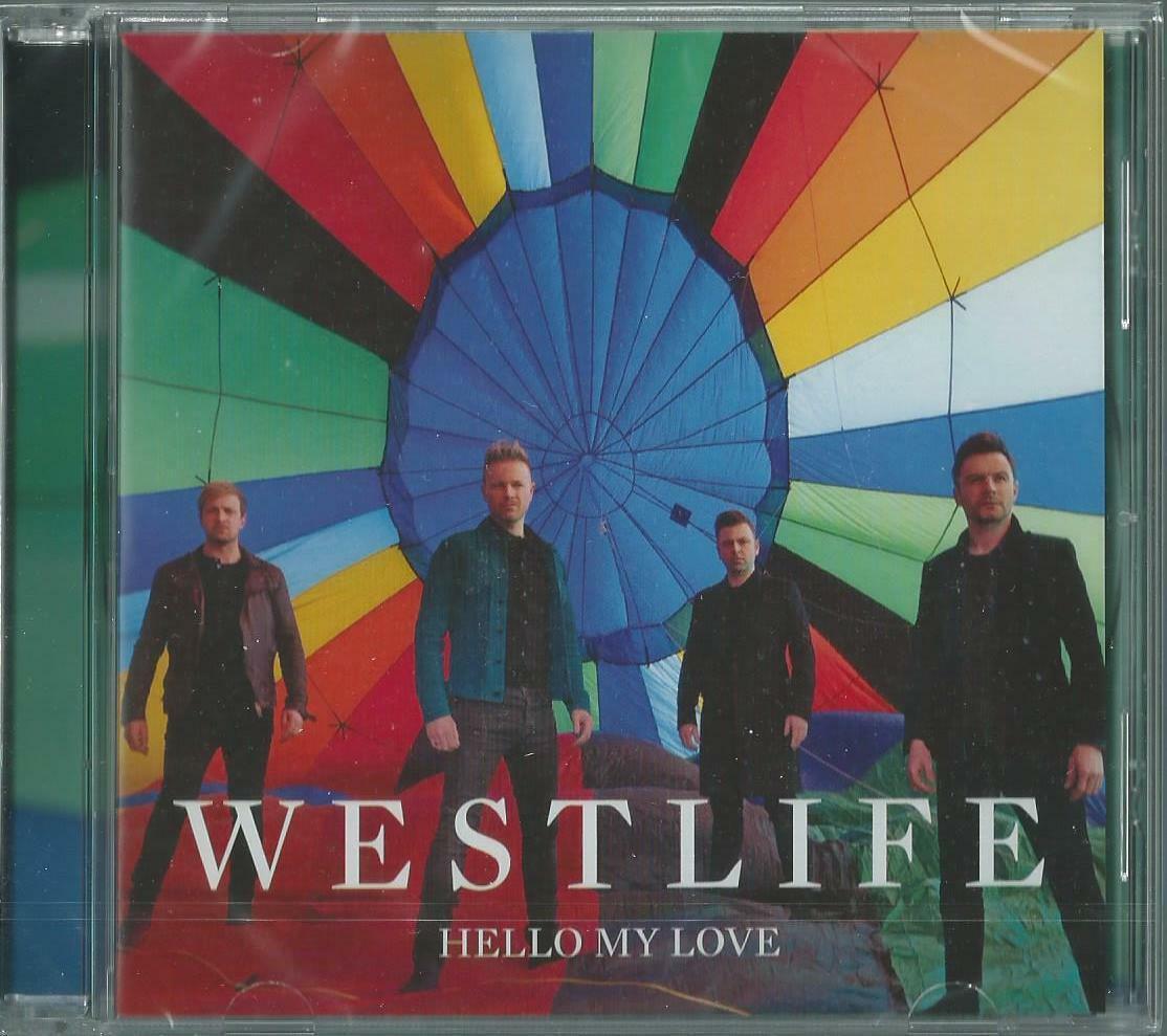 WESTLIFE - HELLO MY LOVE / INSTRUMENTAL 2018 UK CD SINGLE W/ POSTER VSCDT2181