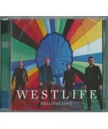 WESTLIFE - HELLO MY LOVE / INSTRUMENTAL 2018 UK CD SINGLE W/ POSTER VSCD... - $64.82