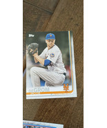 2019 TOPPS CLEAR JACOB DEGROM METS REGIONAL PROMO PARALLEL CARD # CP-16 SGA - $11.99