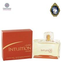 Estee Lauder Intuition for Men 3.4oz/100ml Eau De Toilette Cologne Perfu... - $93.42