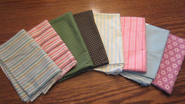 Quilt Fabric Windham EIGHT Fat Quarters 100% Co... - $12.86