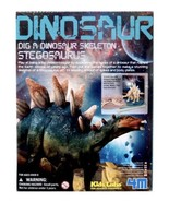 Stegosaurus, Dig a Dinosaur Skeleton, 4M - Kidz Labs, Toysmith - Ages 8+ - $15.84