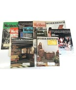 Lot of 9 Workbench DIY Woodworking Magazines late 1950s to late 1970s - $18.69