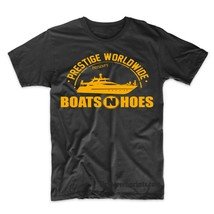 Boats N Hoes Funny T-Shirt Prestige Worldwide Step Brothers - $9.49+