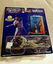 Ken GRIFFEY-SEATTLE MARINERS-1998 Starting LINEUP/Action FIGURE/Slides To Base - $29.69