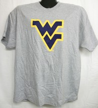 West Virginia Mountaineers Grey Tee Shirt Medium - $13.99