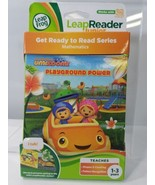 LEAP FROG LEAP READER MATH UMIZOOMI PLAYGROUND POWER NICKELODEON TEAM AG... - $13.71