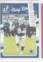 2016 Panini Donruss Tony Romo QB Dallas Cowboys #76  192707 - $1.86