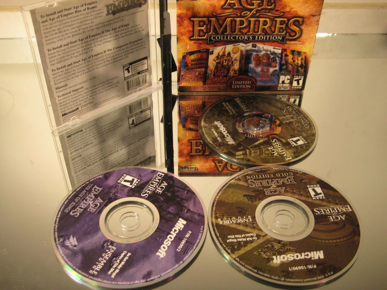 Age of Empires Collectors' Edition 2000 PC CDROM RTS Game image 4