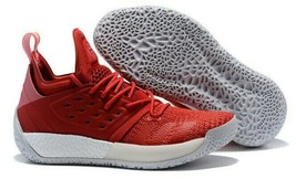 Adidas Harden Basketball Shoes Vol 2 Pioneer Red Colorway Full Length Bo... - $88.79
