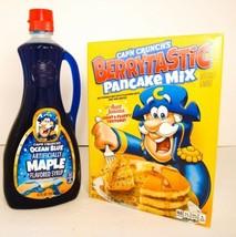 Cap'n Crunch's Berrytastic Pancake Mix & Ocean Blue Maple Syrup NEW - $24.26