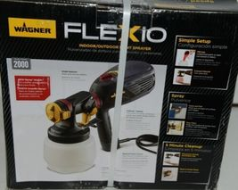 Wagner 0529086 Indoor Outdoor Paint Sprayer FLEXio 2000 New in Box image 3