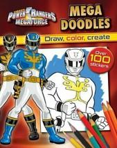 By Parragon Books Power Rangers Megaforce: Mega Doodles - $7.91