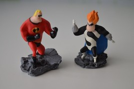 RARE DISNEY'S THE INCREDIBLES MR. INCREDIBLE & SYNDROME TOMY YUJIN CORPO... - $10.39