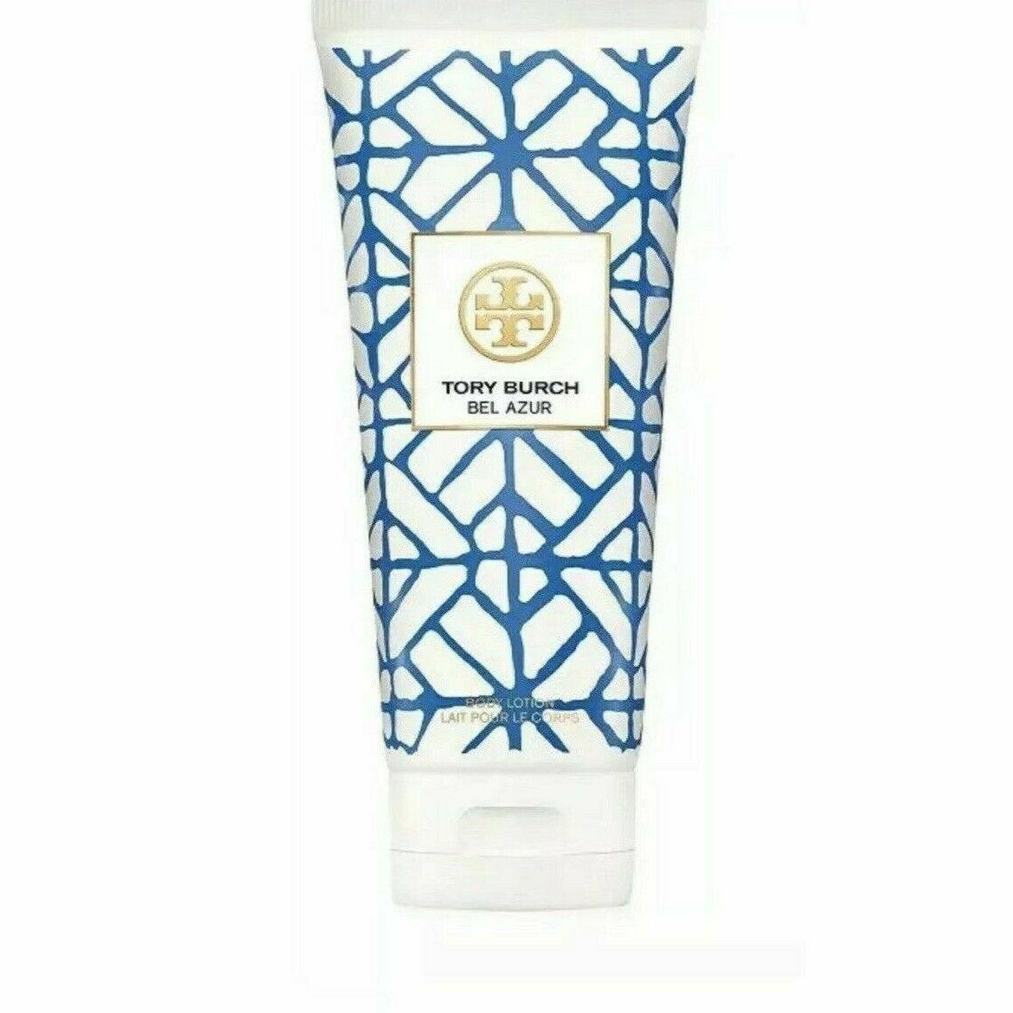 Tory Burch BEL AZUR Perfume BODY LOTION Women BLUE 6.7oz 200ml Fresh NeW  - $28.50