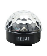 Felji Disco Ball Lights 12W Sound Activated RGB LED Rotating Party Light... - $14.53