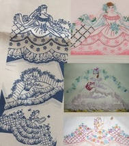 *3* Eyelet pillowcase Southern Belle transfer pattern mo696 - $5.00