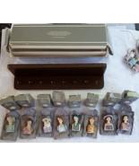 Avon American Fashion Thimble Silhouettes Porcelain 1982-1984 Complete S... - $69.99