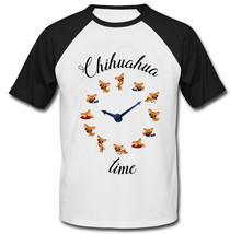 CHIHUAHUA TIME - NEW COTTON BASEBALL TSHIRT - $26.49