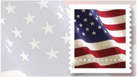 USPS Forever Stamp Flags - 1 roll (100 stamps) - $46.00
