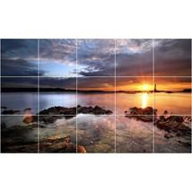 Sunset Photo Tile Murals BZ30473. Kitchen Backsplash Bathroom Shower Wall Murals - $150.00+