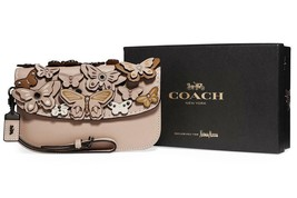 NWT COACH 1941 Butterfly Large Wristlet Clutch Bag Limited Edition SOLD OUT - $260.87