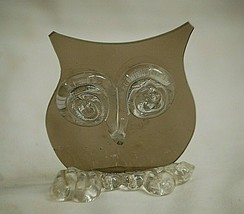 Classic Style Horned Owl Animal Bird Figurine Shadowbox Shelf Decor - $8.90