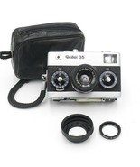 Vintage Rollei 35 with Zeiss Tessar 40 mm / 3.5 camera Made in Singapore... - $188.09