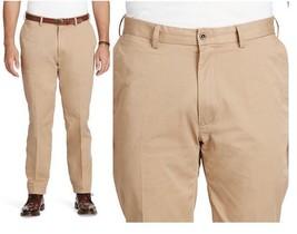 Men's Polo Ralph Lauren Khaki Pants Stretch Classic Fit Granary 36 X 32 - $54.45