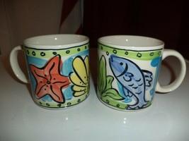 Sango Key West Coffee Mugs - $9.99