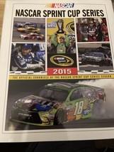 2015 NASCAR Sprint Cup HTF Yearbook VGC Kyle Busch Champion Rare Edition - $49.50