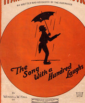 Vintage Black Americana Sheet Music ~ IT AIN'T GONNA RAIN NO MO' ~ © 1923 - $9.00