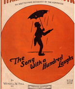 Vintage Black Americana Sheet Music ~ IT AIN'T GONNA RAIN NO MO' ~ © 1923 - €7,93 EUR
