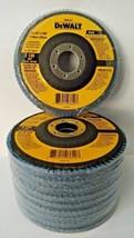 """DeWalt DW8354 4-1/2"""" x 7/8"""" Zirconia 120 Grit Flap Disc 10 Pack - $25.74"""