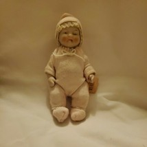 """Antique All Bisque Candy Baby Doll 4"""" All Porcelain Body Arms and Legs  - $168.95"""
