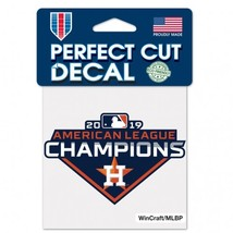 """Houston Astros 2019 American League Champions Decal 4"""" x 4"""" - $8.95"""