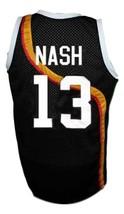 Steve Nash #13 Roswell Rayguns Basketball Jersey Sewn Black Any Size image 2