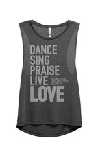 Thread Tank Dance Sing Praise Women's Sleeveless Muscle Tank Top Tee Cha... - $24.99+