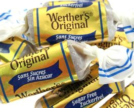Werther's Chewy Caramel SUGAR FREE Original Candy 4 LBs Wrapped Candies - $69.99