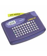 Kl-60l Label Maker, 2 Lines, 6-5/8w X 4-1/2d X 1-1/16h - $19.55