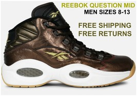 New Men's Reebok Retro Basketball Question Mid Athletic Comfortable Fash... - $94.00