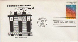 1983 Scott 2031 FDC 20 cent Science and Industry stamp-FREE SHIPPING - $1.24