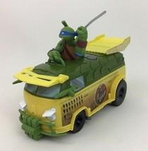 Party Wagon Pavement Pounder Venus Teenage Mutant Ninja Turtles 2015 Pla... - $19.55